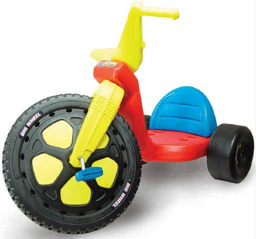 Big Wheel Toys For Toddlers : Specs
