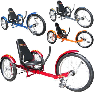 girls nude and trikes